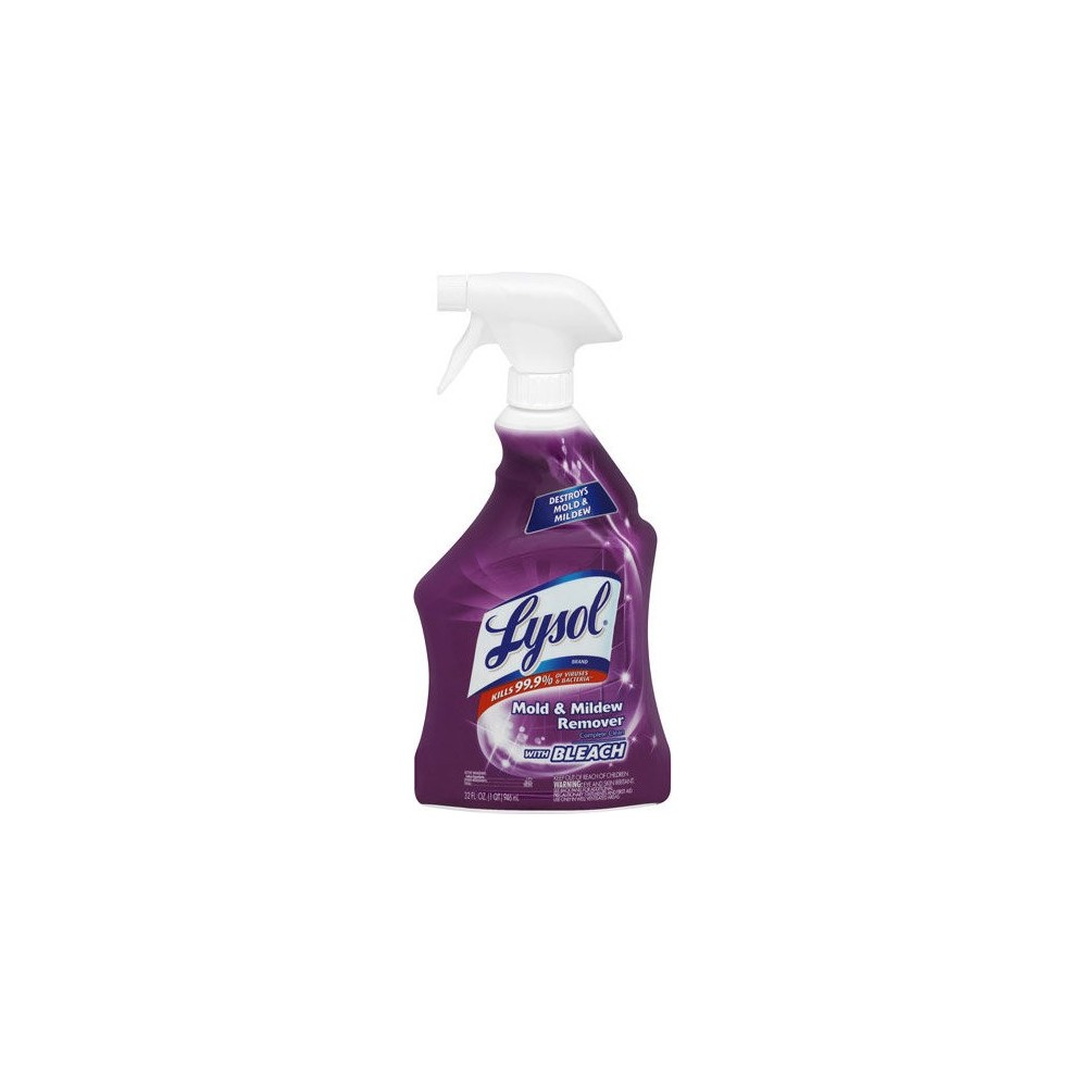 Lysol In Mildew Remover Bathroom CleanerRemovedor De MOLDE Y - Bathroom mildew remover